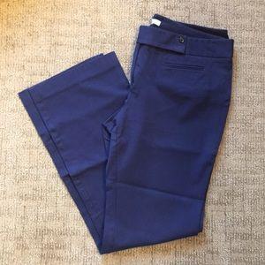 Ann Taylor Loft Dark Blue Marisa Pants size 10